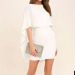 Lulu's Cape Mini Dress
